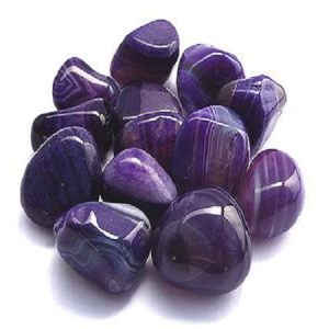 Agate Purple Gemstone